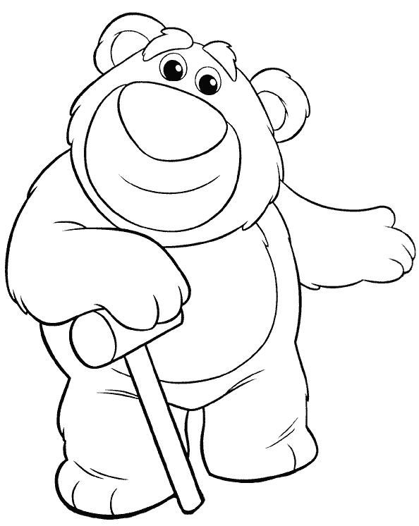 toy story rex coloring pages from the movie toy story dinozaur rex ...
