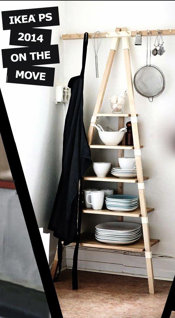i'm not a fan of ikea, but i like this rack: Via Nordic Days | Sneak Peek: IKEA PS 2014 www.nordicdays.nl