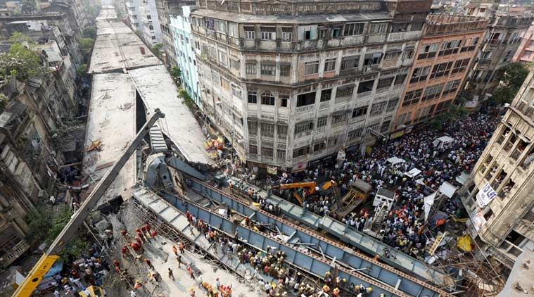 Builder of the collapsed Kolkata bridge says it was an act of God!