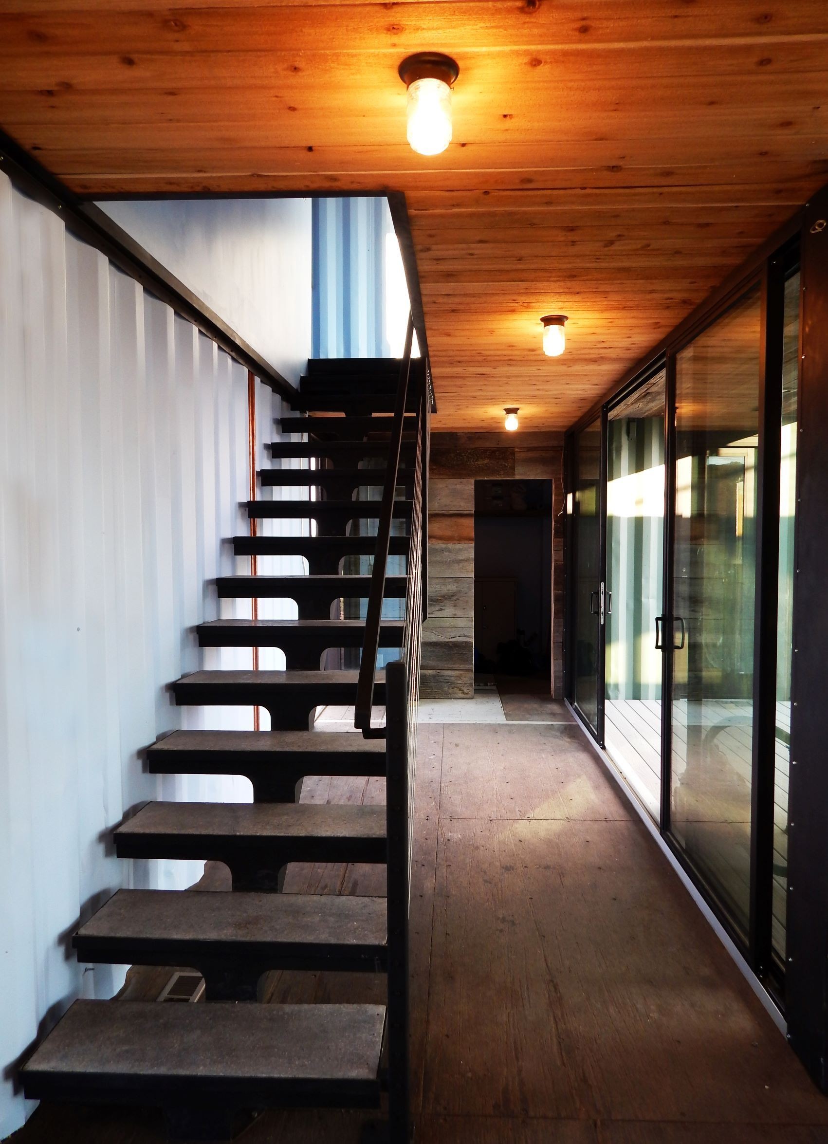 Canyon City Container Cabin This Project Is Designed As A Family