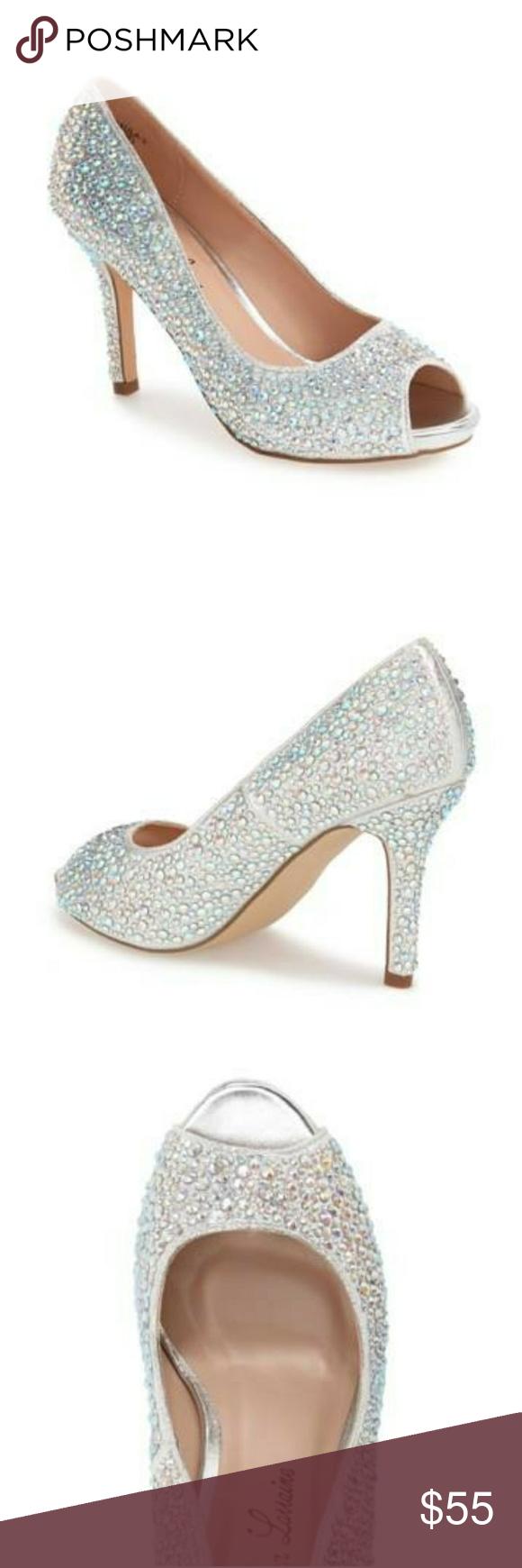 Lauren Lorraine Paula 3 Peep Toe Heel | Heels, Peep toe