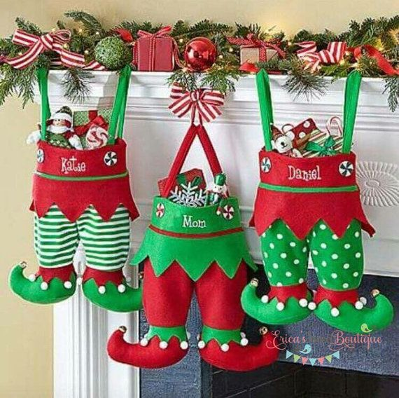 Personalized Handmade Christmas Gift Guide: Best 25+ Embroidered Christmas Stockings Ideas On