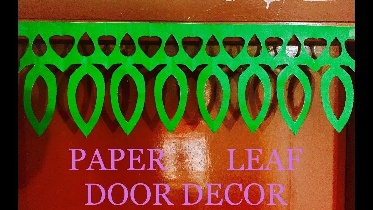 Paper Leaf Door Decor For Diwali And Christmas Decoration Door Hanging Toran Artsncraft Door Decorations Christmas Door Decorations Classroom Christmas Decorations [ 720 x 1280 Pixel ]
