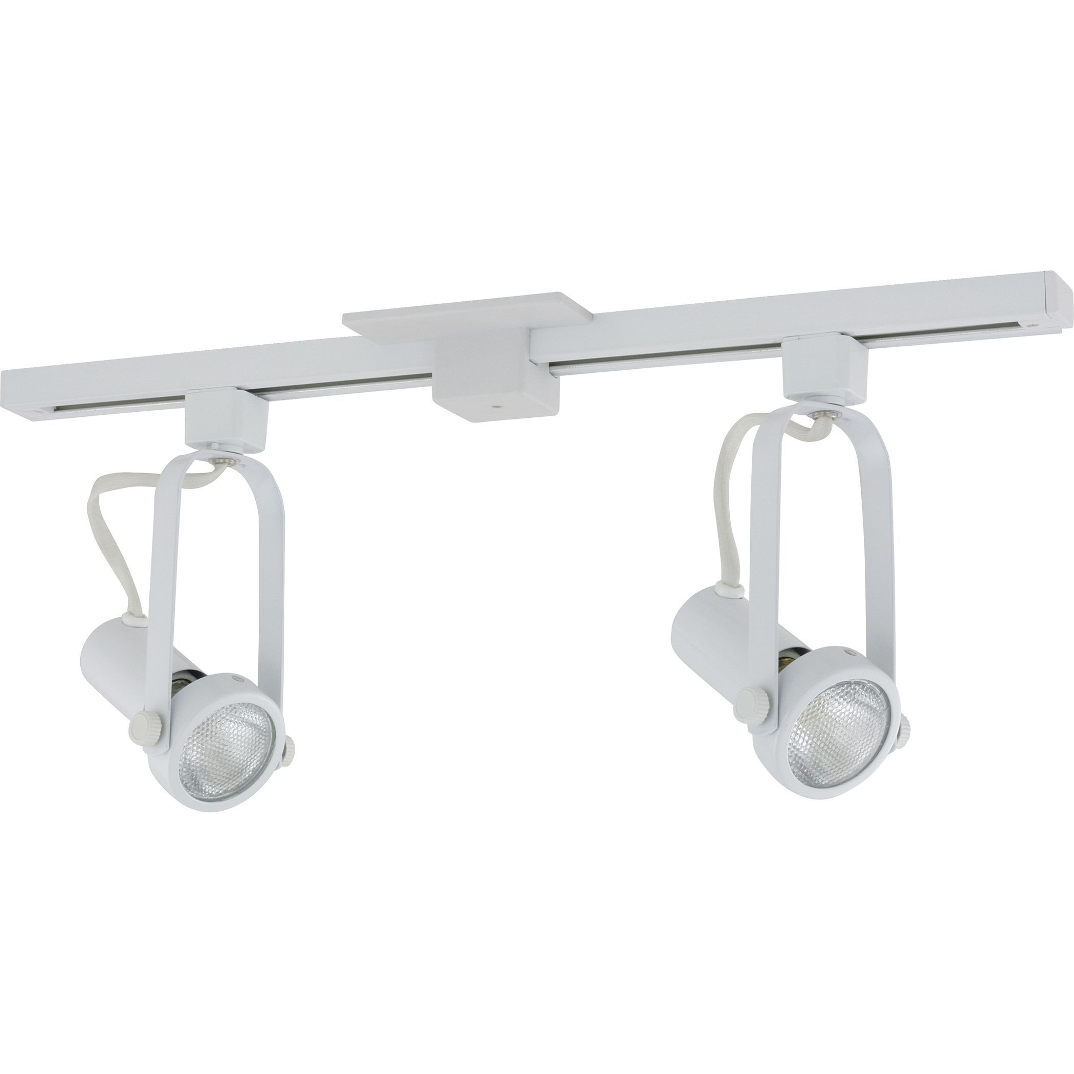 Liteline corporation 71250 80019 2 white athena two head track liteline corporation 71250 80019 2 white athena two head track lighting fixture aloadofball Image collections