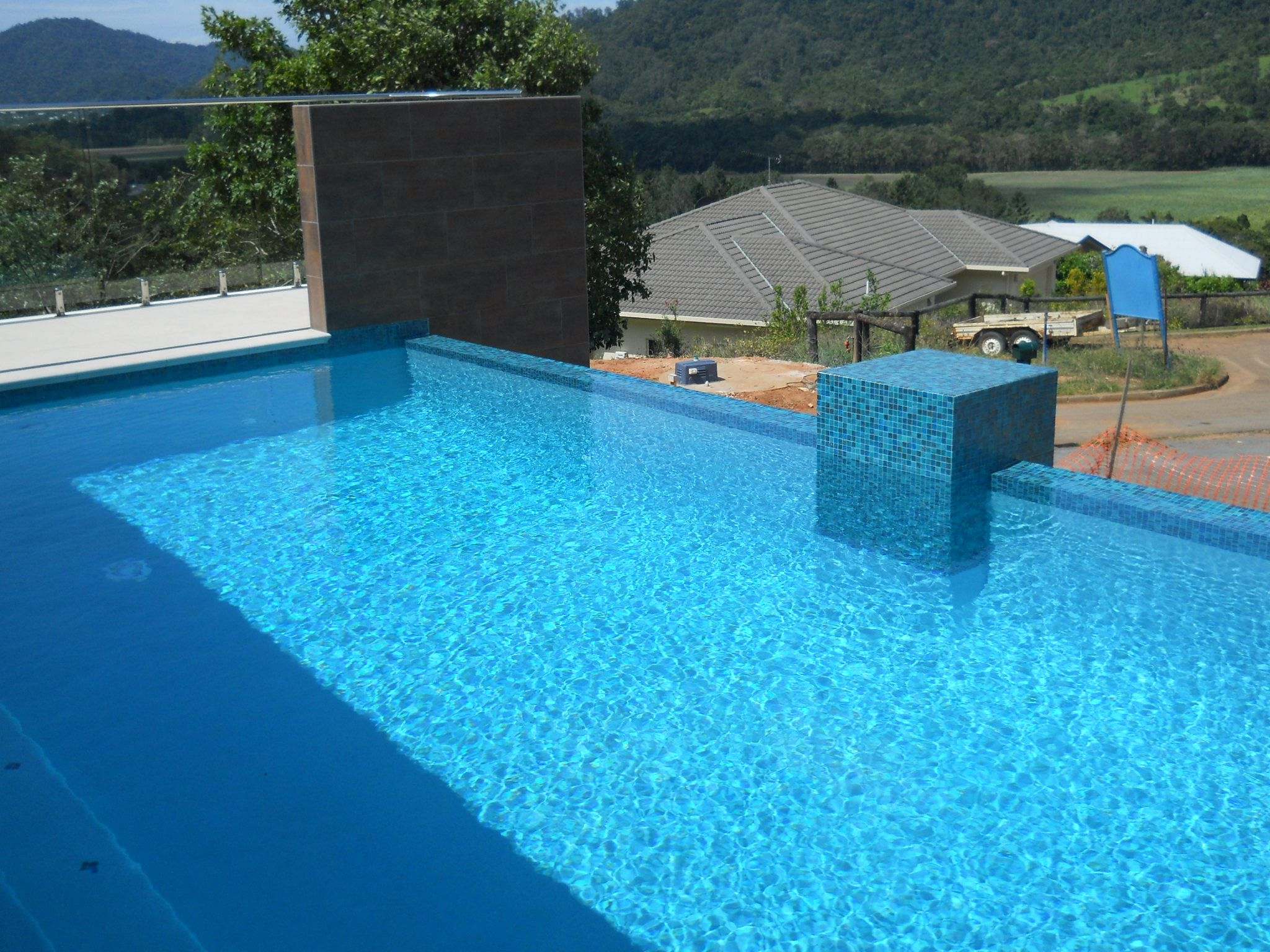 Swimming Pool Using Bisazza Mosaics Bisazza Mosaic
