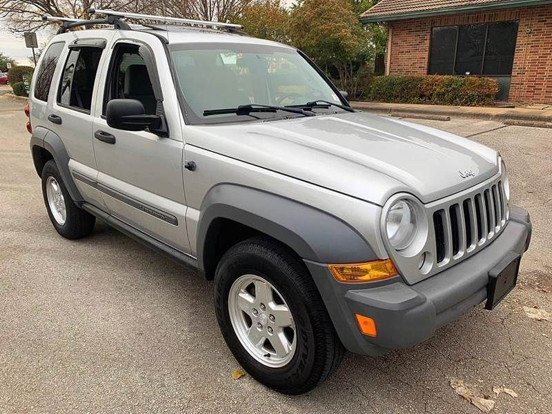 eBay 2005 Liberty Sport 2005 Jeep Liberty, SILVER with