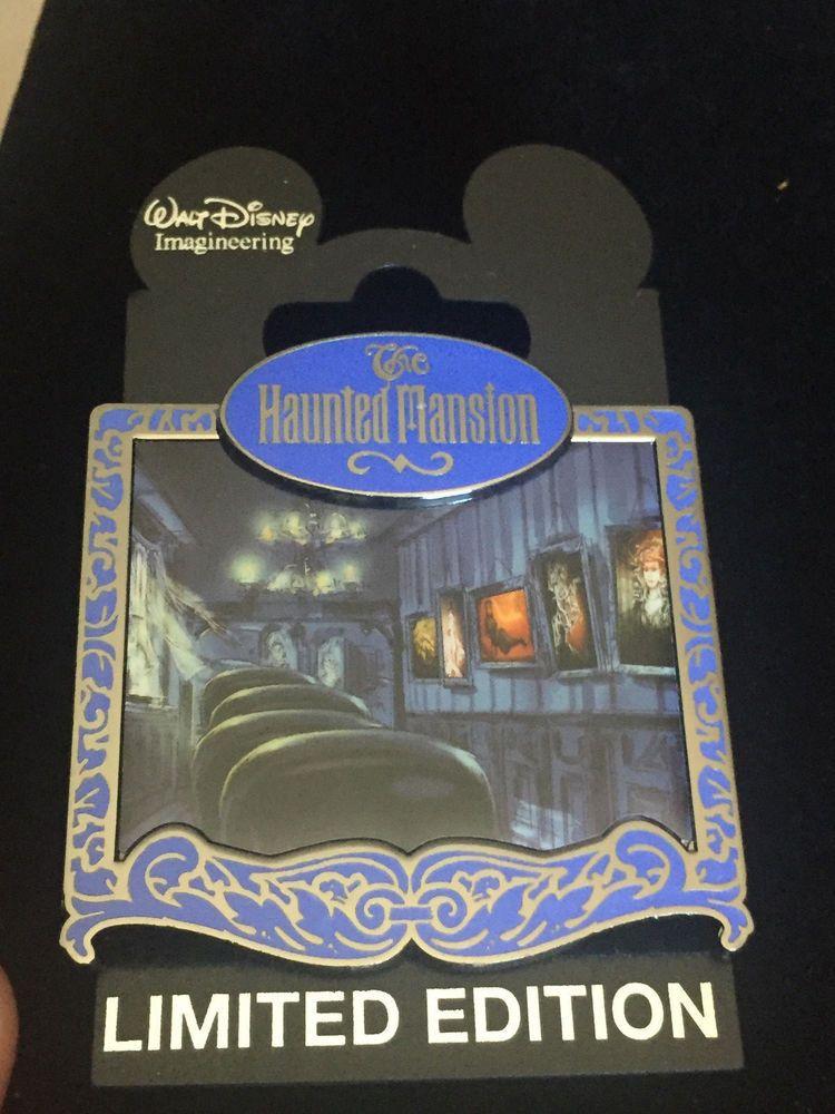 Disney Wdi Ride Through Series 1 Haunted Mansion Portrait Gallery