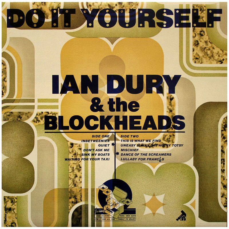Do it yourself ian dury the blockheads sleeve designs and post punk barney bubbles sleeve design for do it yourself ian dury the blockheads solutioingenieria Choice Image