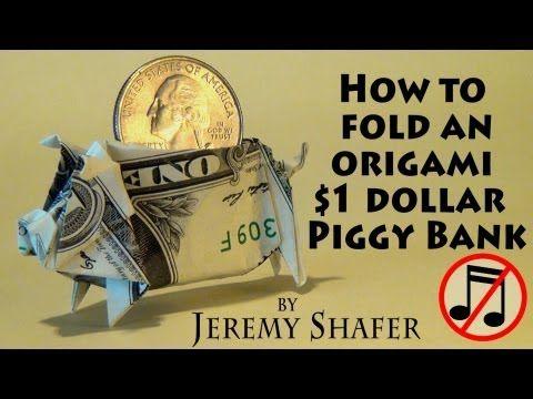 Dollar Origami Koi Fish Tutorial