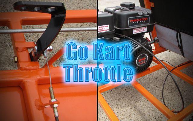 Go Kart Throttle Cable Parts Kit Setup Kartfab Com Go Kart Go Kart Plans Vintage Go Karts