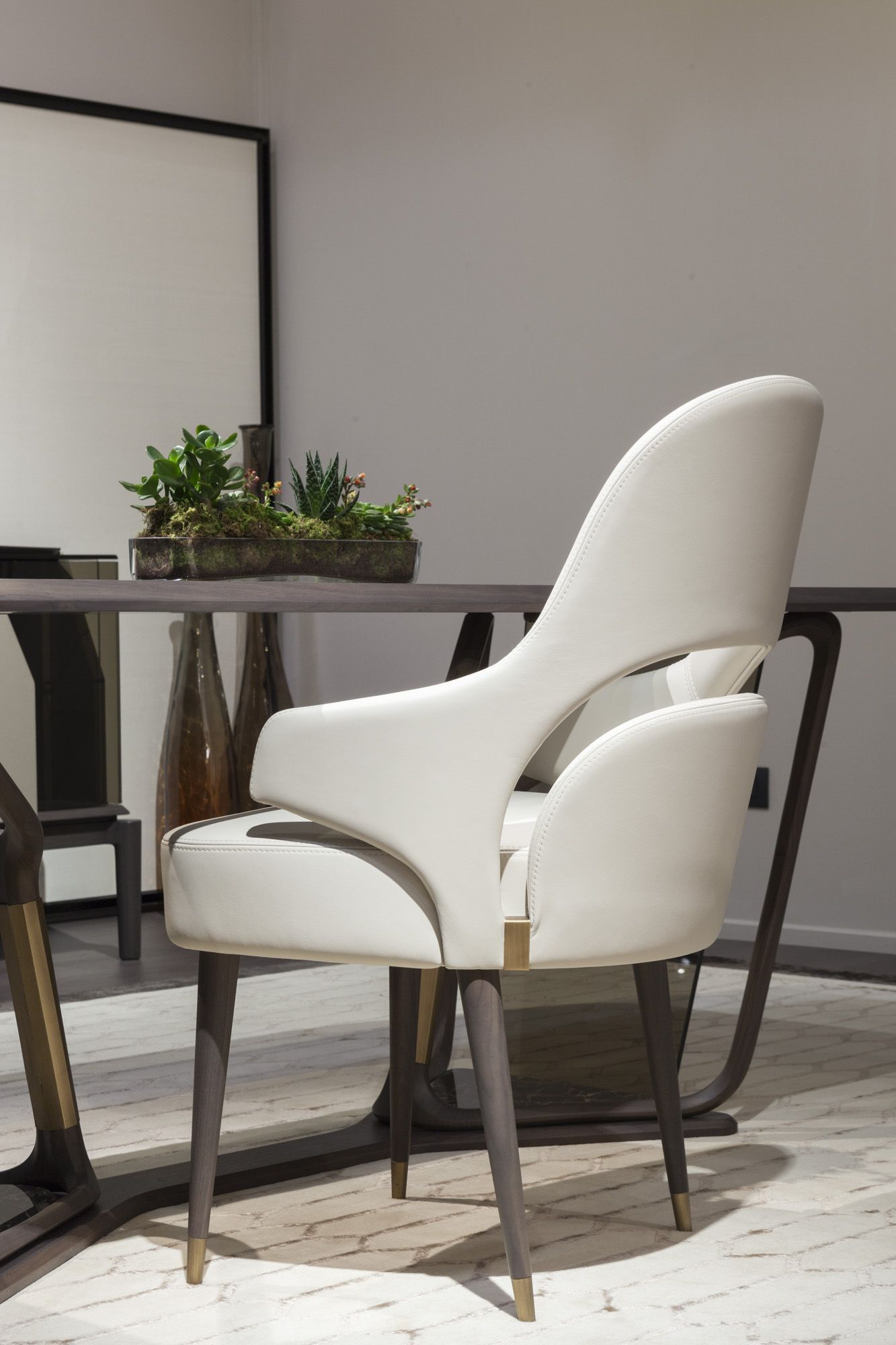 Modern Design Luxury Materials Furniture In Natural Wood