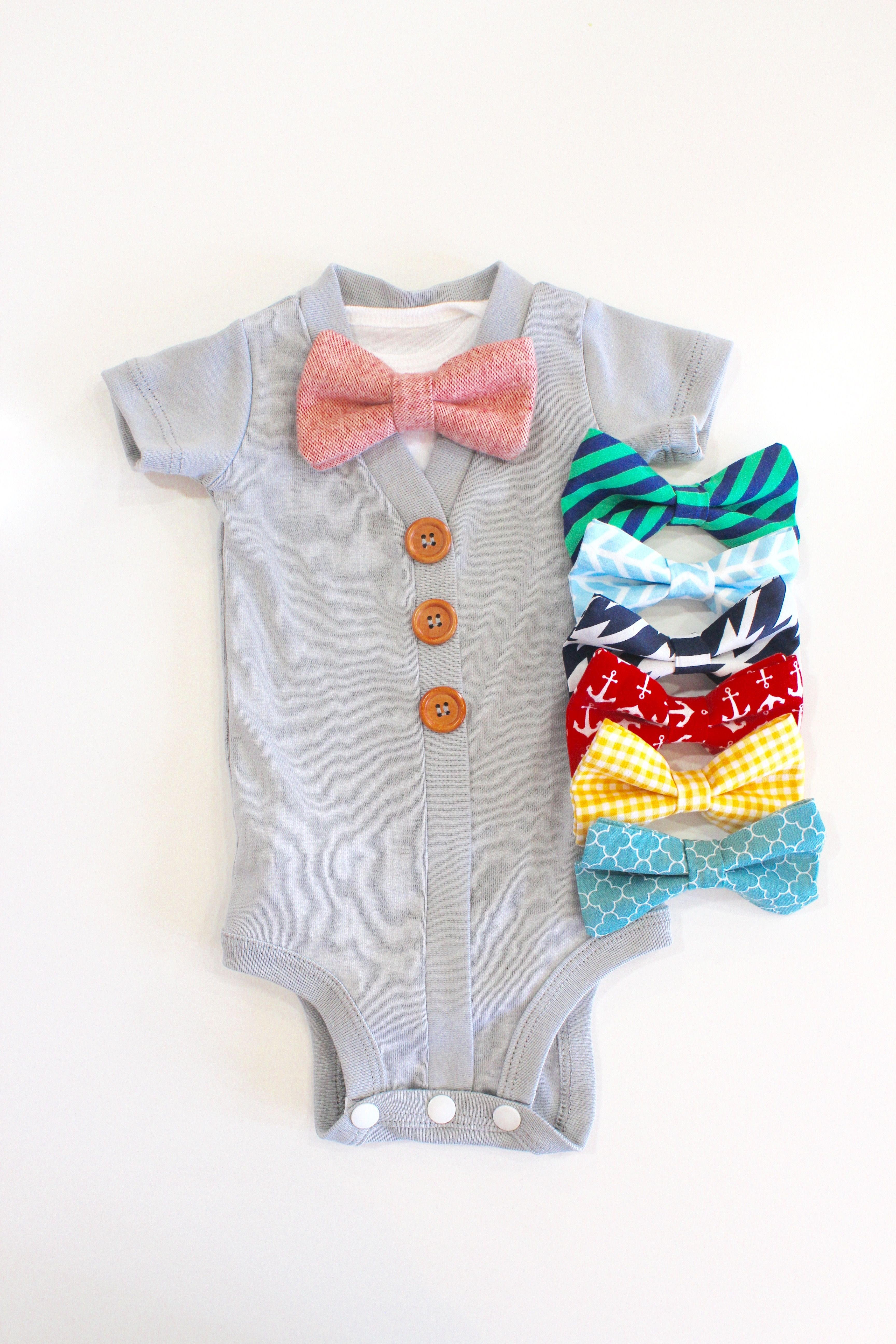 So Cute Baby Boy Take Home Outfit Cardigan Onesie With