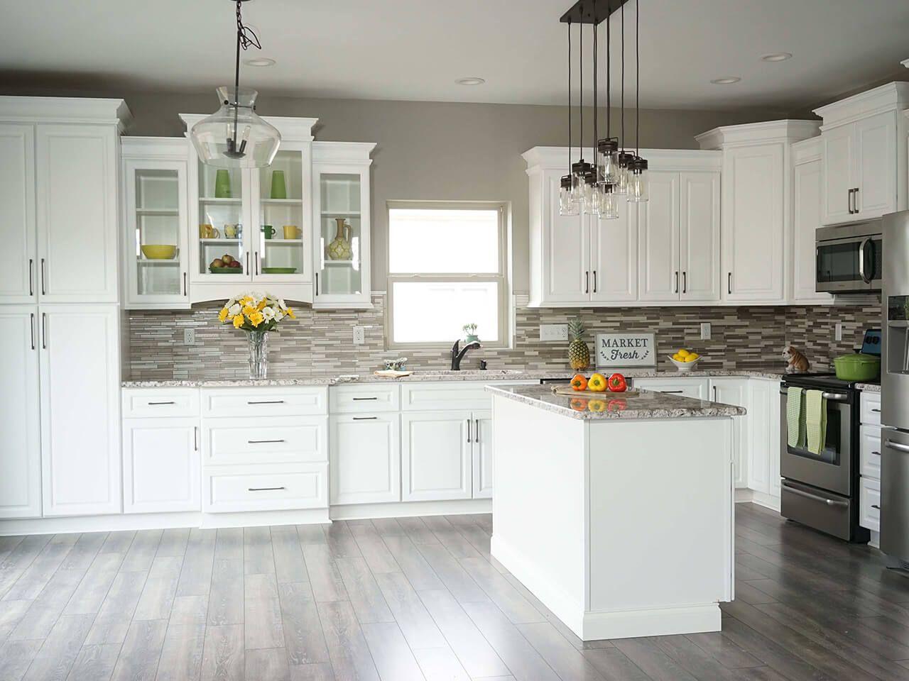 Key Largo White 14 Wholesale Kitchen Cabinets Contemporary Kitchen Cabinets White Kitchen Remodeling