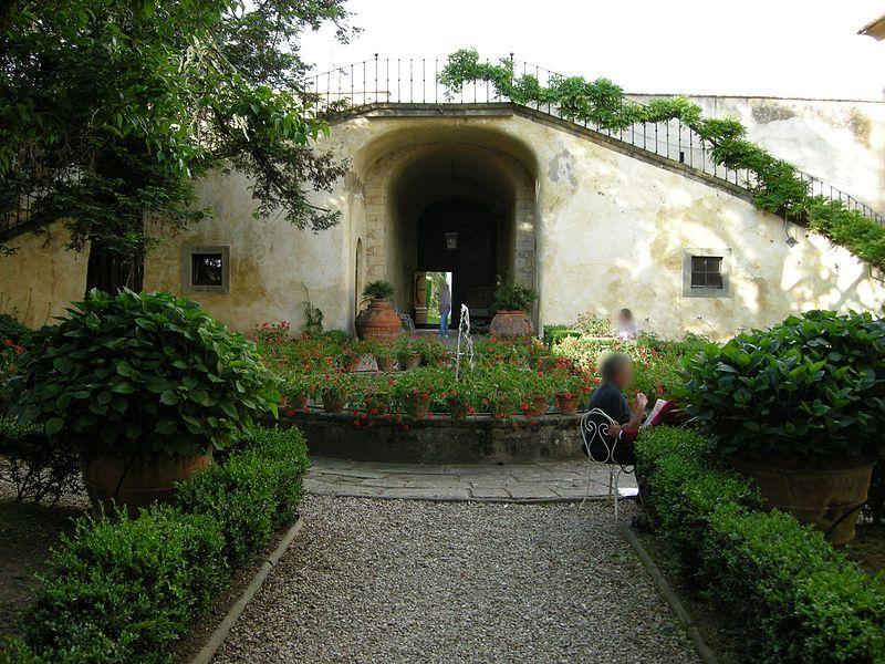 Bagno a ripoli firenze villa medicea di lilliano cortile home pinterest villa and home - Bagno di ripoli firenze ...