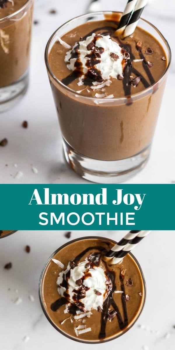 Almond Joy Smoothie | Lemons + Zest | Simiple Smoothie Recipe
