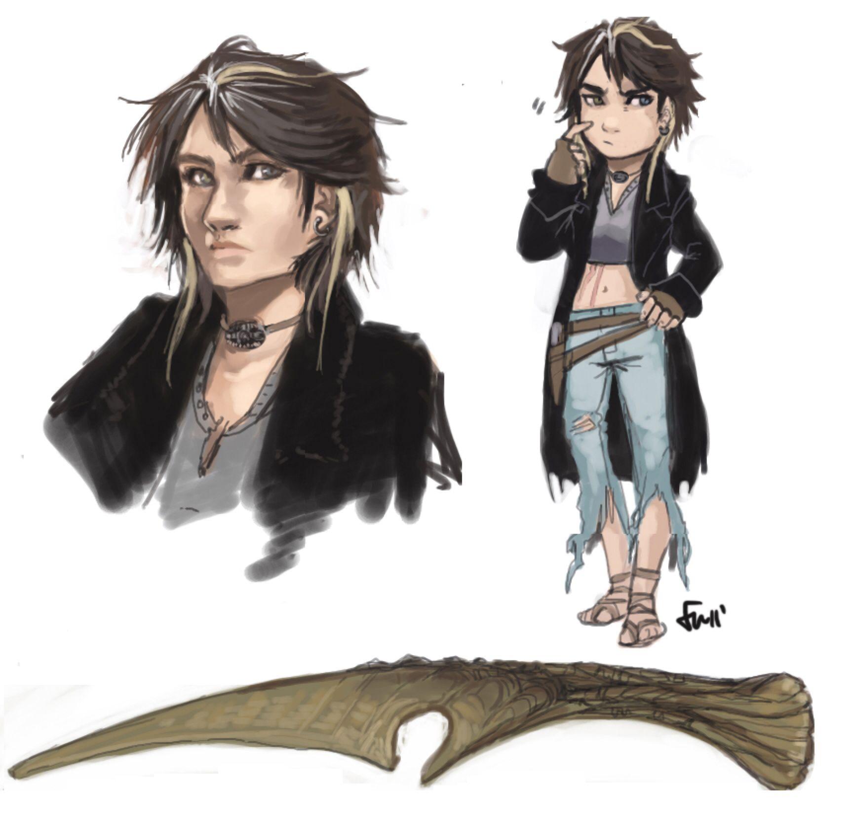 Oc Ashild By Oneoftwo On Deviantart Art Character Art Deviantart