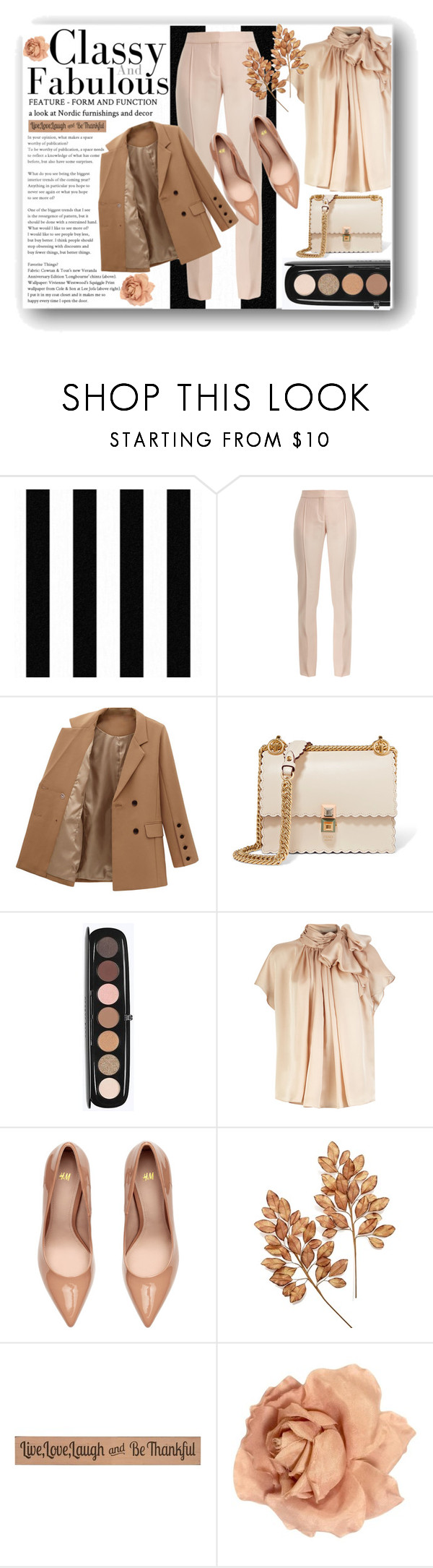 """""""Smart and casual"""" by lepa-bobi ❤ liked on Polyvore featuring STELLA McCARTNEY, Fendi, Marc Jacobs, Holiday Lane, DutchCrafters, Chanel, casual and smart"""