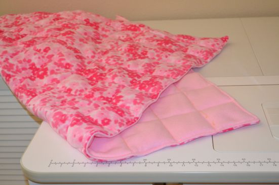 making weighted blankets for