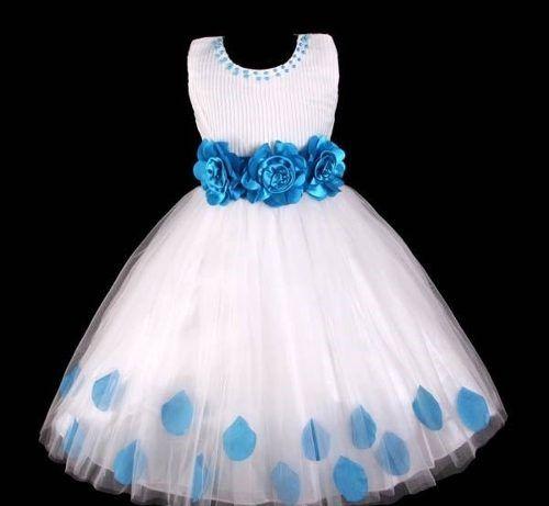 94ed498a5 vestido infantil/festa/dama/florista plissado com pétalas …   The ...