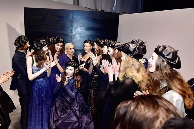 Dior backstage Fall2017 - very blue show! #marieclairerussia #dior #diorfall2017 #diorblue  via MARIE CLAIRE RUSSIA MAGAZINE OFFICIAL INSTAGRAM - Celebrity  Fashion  Haute Couture  Advertising  Culture  Beauty  Editorial Photography  Magazine Covers  Supermodels  Runway Models