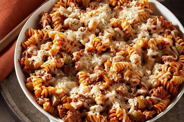 Special Weeknight Pasta Skillet Skillet Pasta Rotini Pasta Recipes Recipes