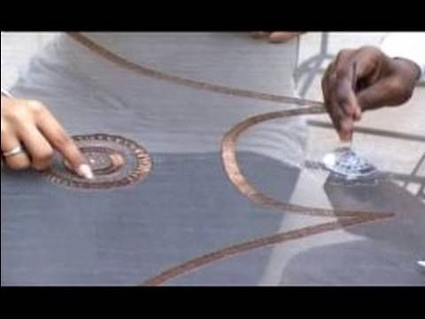‪Indian Embroidery and Zari Work : Straight Line Stitch for Zari Indian Embroidery‬‏ - YouTube
