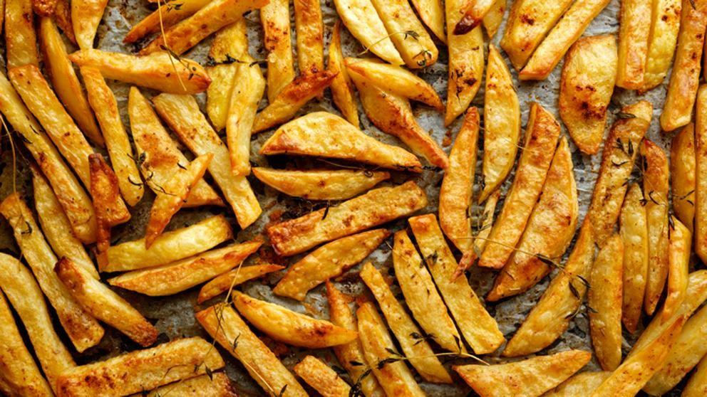El truco para conseguir unas patatas fritas perfectas
