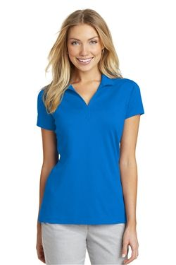 Photo of Port Authority Ladies Rapid Dry Mesh Polo Shirts L573