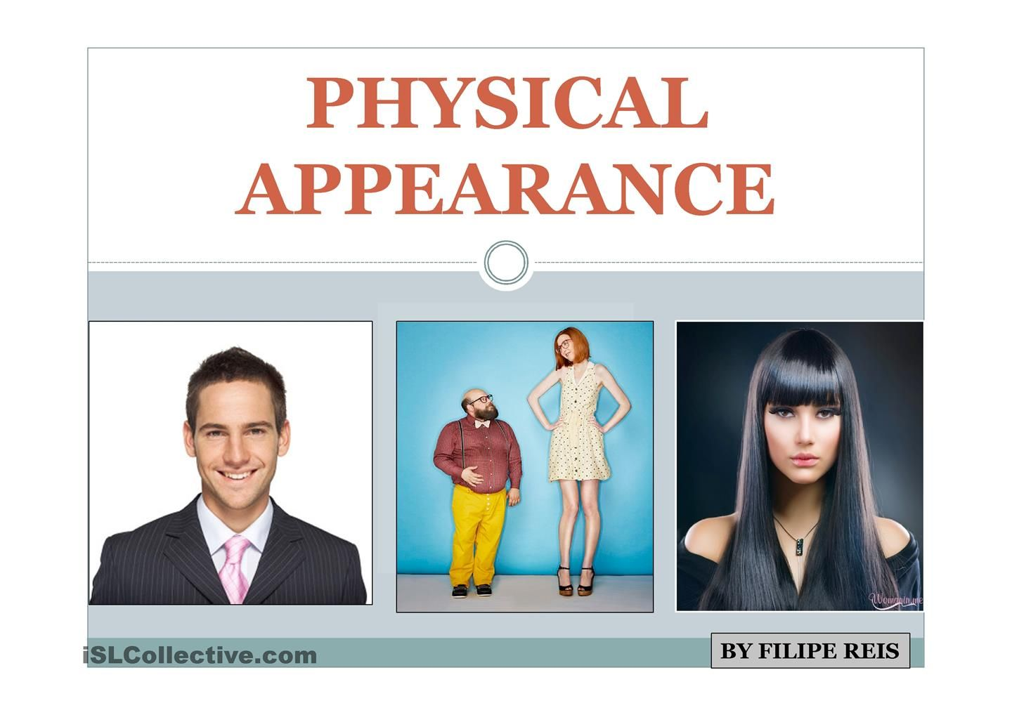 the importance of physical appearance in judging a character Physical characteristics: what you notice first physical characteristics are defining traits or to get good examples of physical characteristics you should look at a person's face, how tall they if a man is wearing an old dirty shirt, instead of judging him, it could be that his washing machine is broken.
