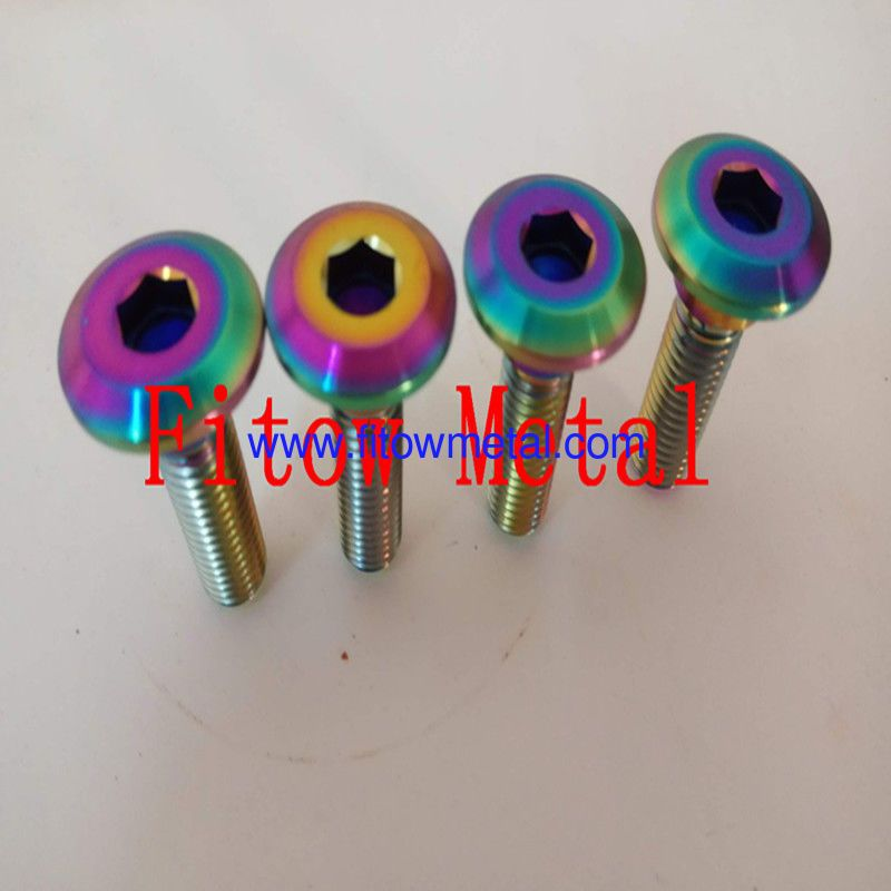 Racing Titanium Bolt Kit,Titanium Anodize Systems - Color and Type