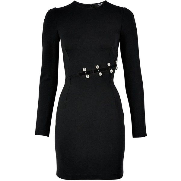 Versus Versace Safety Pin Dress With Long Sleeves 680 Liked On