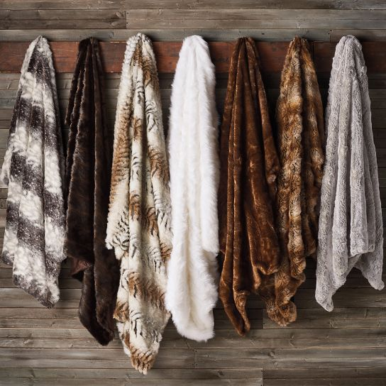 Luxury Faux Fur Throw With Images Faux Fur Throw Luxury Home