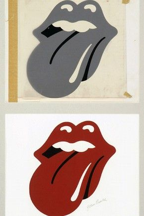 Art Work For The Rolling Stones Hot Licks Logo By Jon Pasche