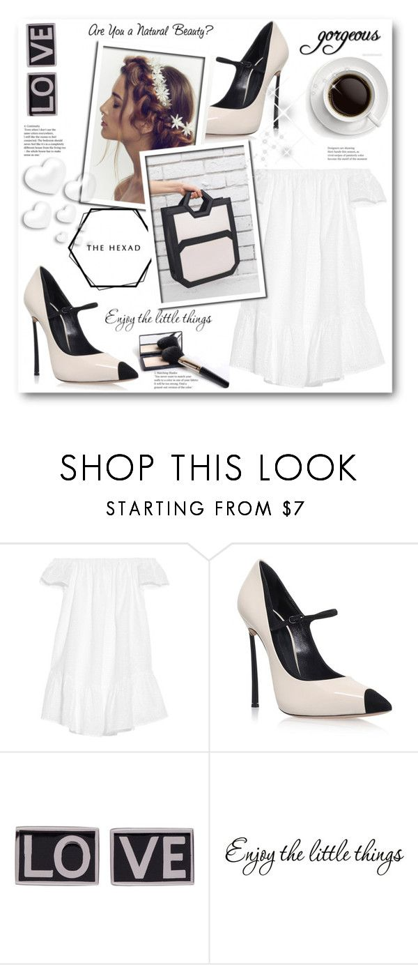"""""""THE HEXAD"""" by stranjakivana ❤ liked on Polyvore featuring Elizabeth and James, Casadei, Givenchy, Valentino and thehexad"""