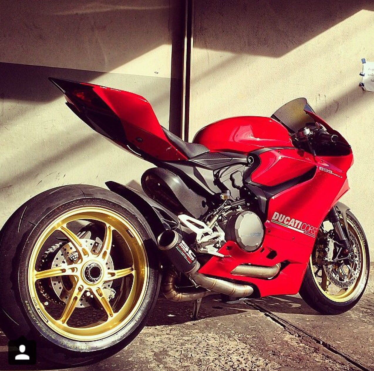 Ducati 899 Panigale With Single Side Swing Arm Sportbikes Ducati Panigale Motorcycle
