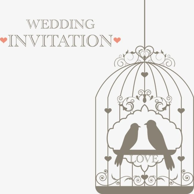 Wedding invitations decorative birds fly fig double decoration wedding invitations decorative birds fly fig double decoration vector wedding png and vector junglespirit Image collections