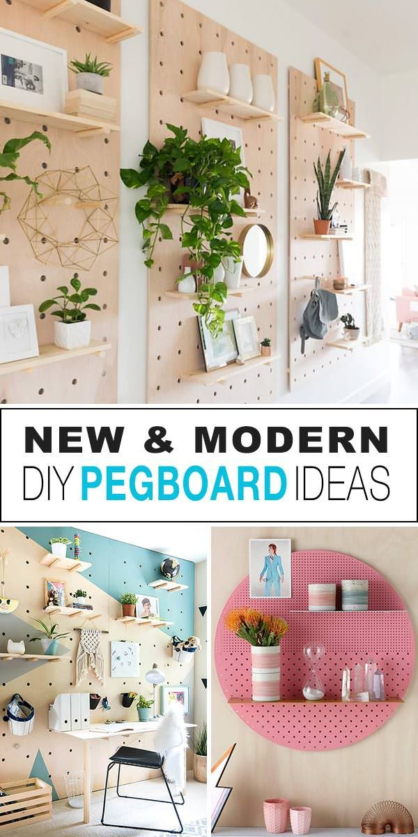 Neue & moderne DIY Pegboard Ideen   OhMeOhMy Blog