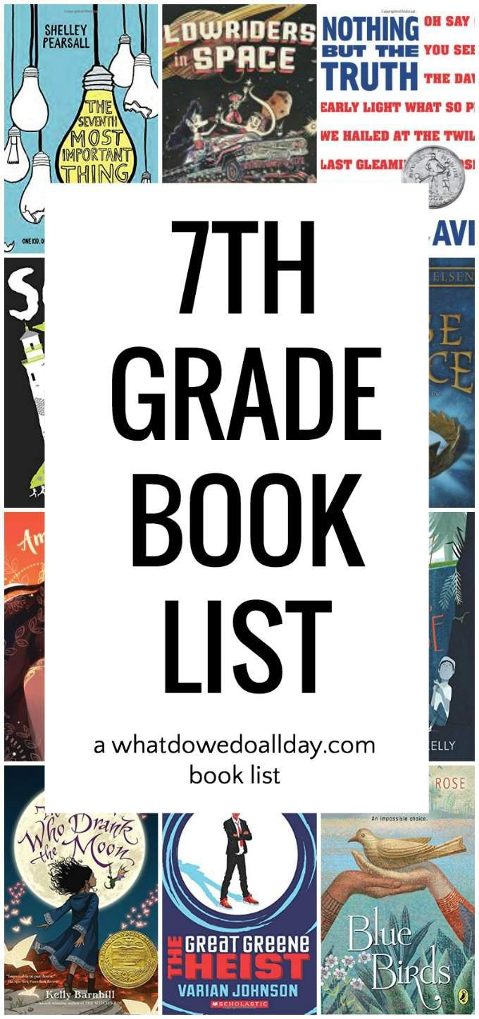 Diverse 7th Grade Summer Reading List Sixthgradestaffcom