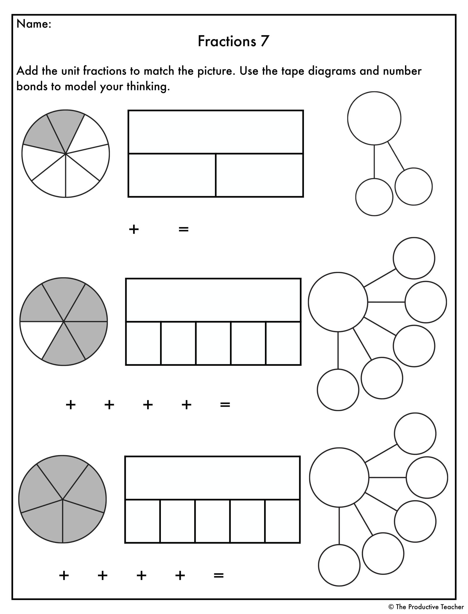 Do You Need Some Worksheets To Support Your Fractions