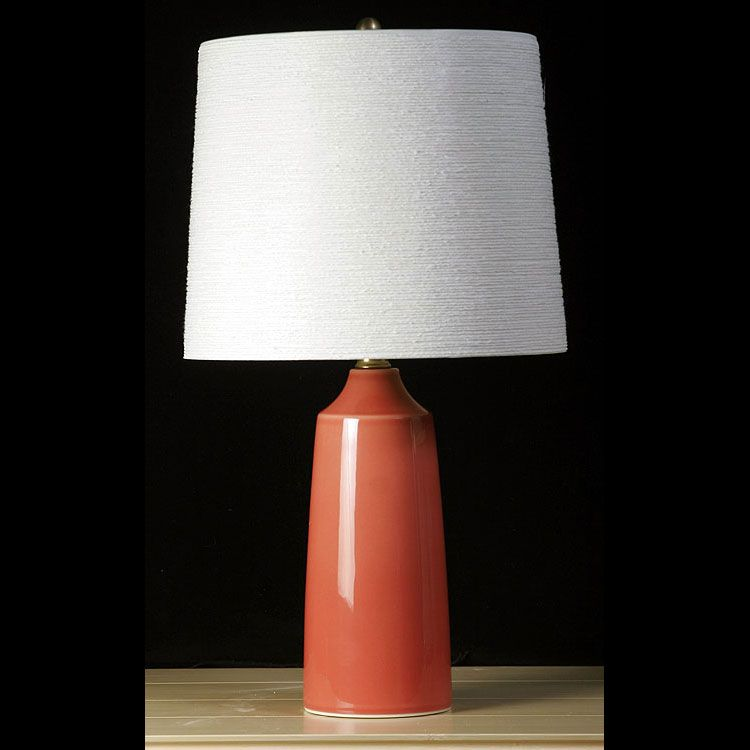 Coral Colored Lamp Google Search Modern Table Lamp Lamp