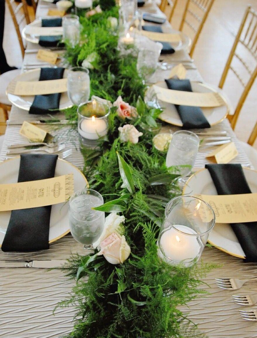 ideas para decorar y organizar mesa para evento