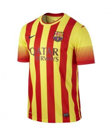 CAMISETA FC BARCELONA SEGUNDA EQUIPACIÓN (SENYERA) 2013-2014 ADULTO  532823-703 43c7786d12a8a