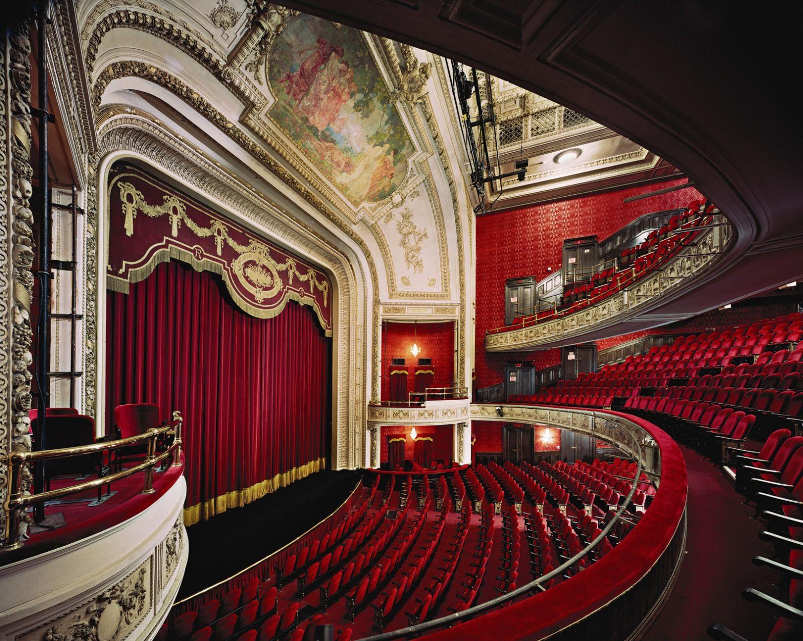 Edward Burtynsky S Photo Of The Royal Alexandra Theater
