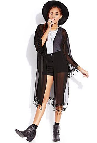 Boho Babe Kimono Cardigan | FOREVER 21 - 2000127068