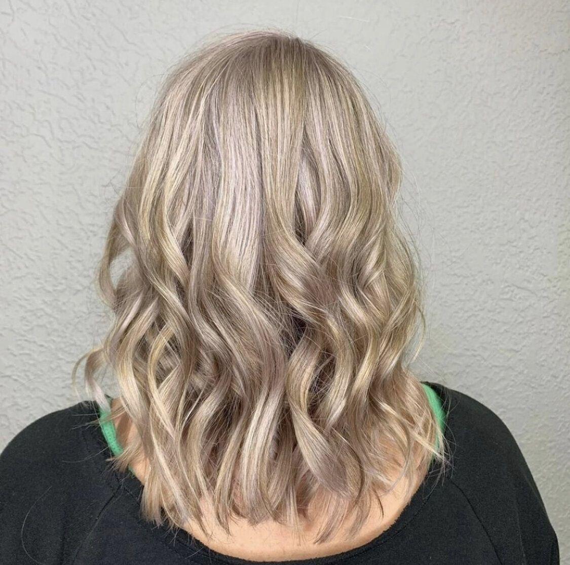Curly Hairstyles Utah Hair Salon Rambut Panjang Balayage Rambut Keriting