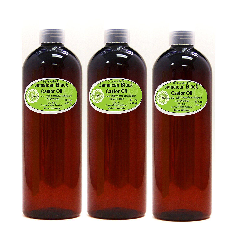 Jamaican black castor oil natural pure organic strengthen grow