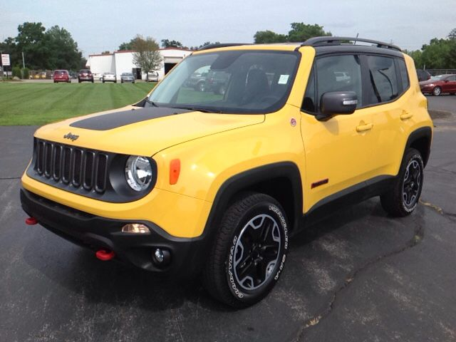 New 2015 Jeep Renegade Trailhawk 4x4 Suv Elkhart Jeep Renegade Jeep Suv
