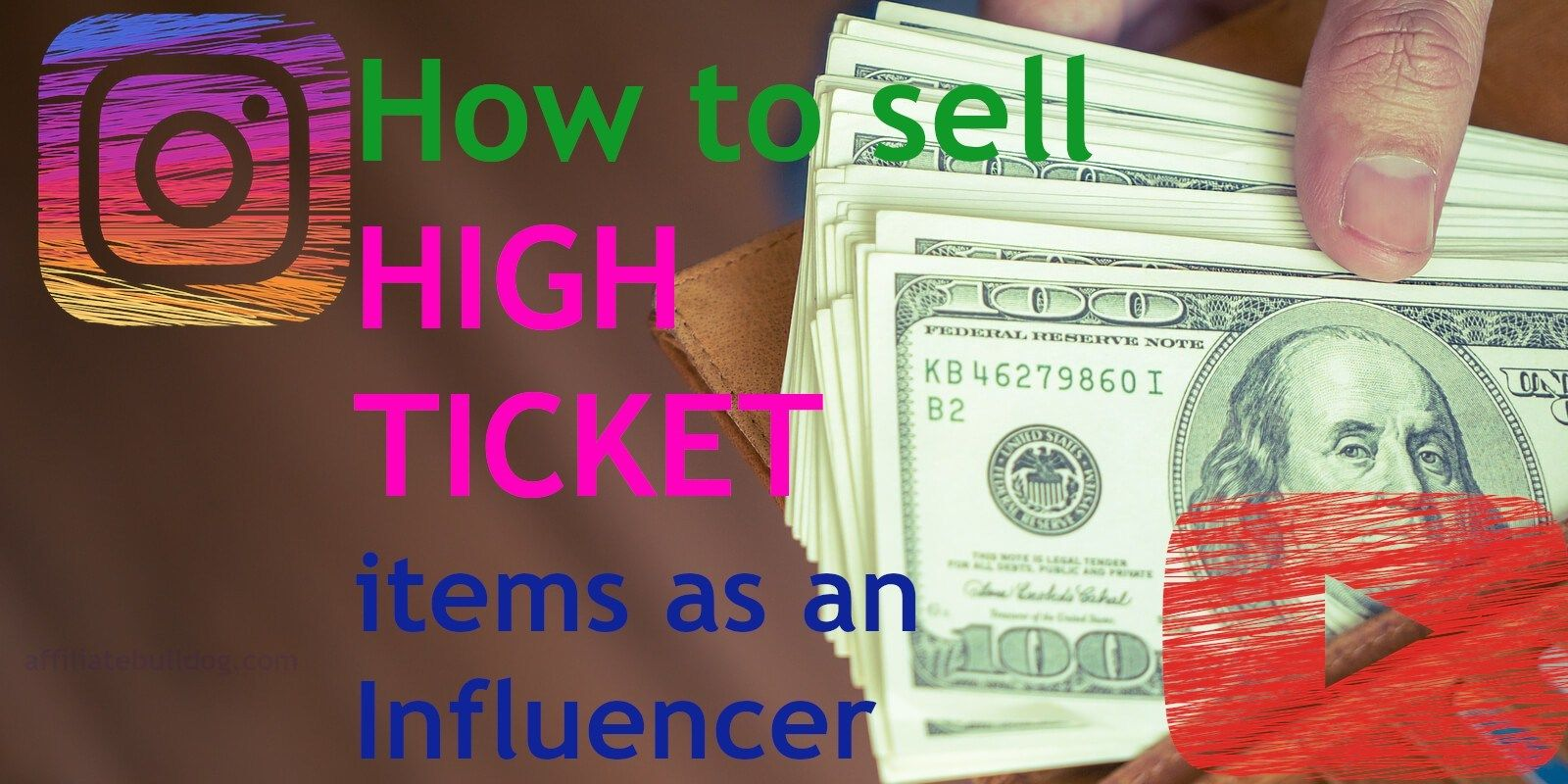 How to Sell High Ticket Items for A LOT of CASH as an
