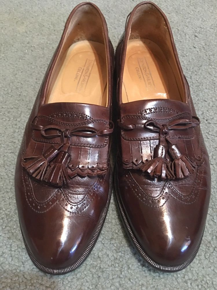 7ee2c78e23f65 Johnston Murphy Cellini Tassel Loafers 10D #fashion #clothing #shoes ...