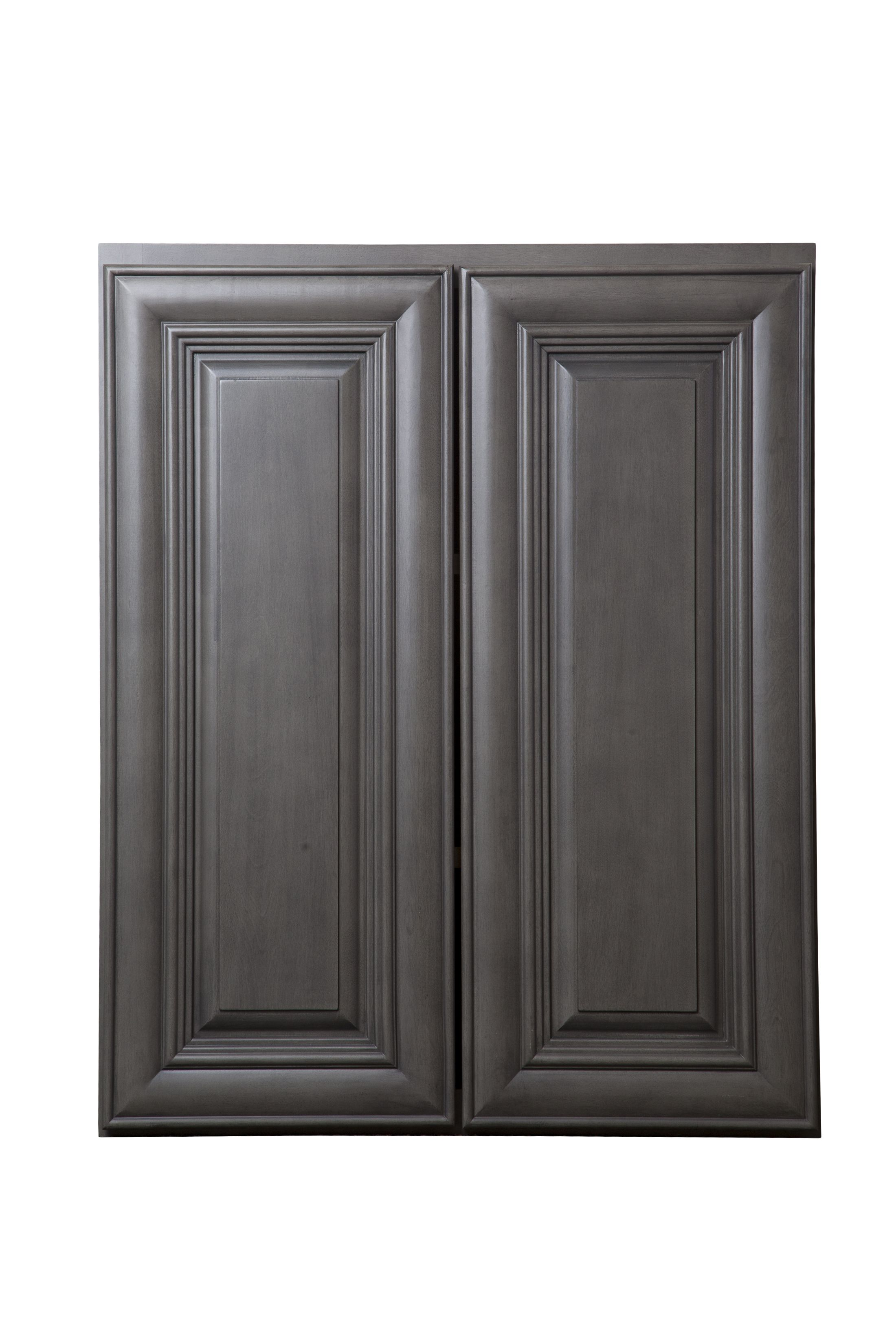 Kensington Kitchen Cabinets: Kensington Mist Grey Kitchen Cabinets, Perfect With Orange